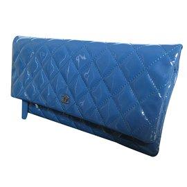 Chanel-Timeless clutch-Bleu