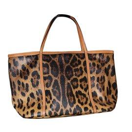 Dolce Gabbana Handbag Leopard Print
