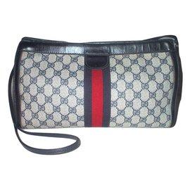 Gucci-Vintage pouch-Blue