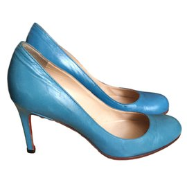 Christian Louboutin-Simple pump-Bleu