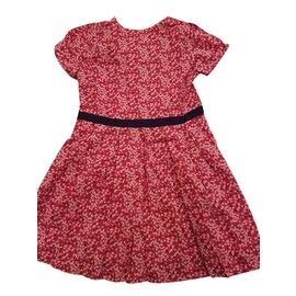 Autre Marque-Robe fille 'Jacardi'-Rouge