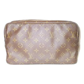 Louis Vuitton-Vintage pouch GM-Brown