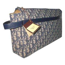 Christian Dior-Vintage pouch-Blue