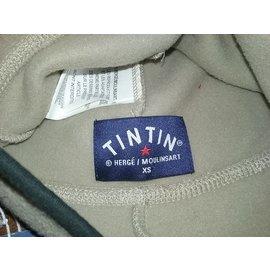 Autre Marque-Bonnet polaire TINTIN-Beige