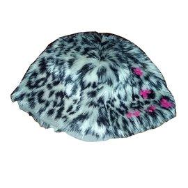Autre Marque-ELIANE ETLENA beret-Leopard print