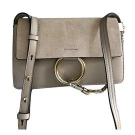 5656b23de2 Chanel Classic Jumbo Bag - large model Black. Chloé-Faye-Taupe ...