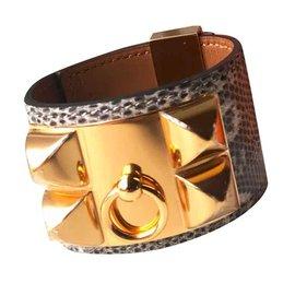 Hermès-CDC Lizard ombre-Gris