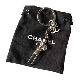 Chanel-Chanel poupée-Argenté