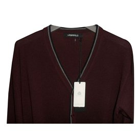 Karl Lagerfeld-LAGERFELD BRAND NEW MEN'S BORDEAUX CARDIGAN-Multiple colors