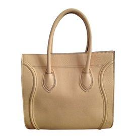 Céline-Luggage Phantom-Yellow
