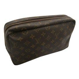 Louis Vuitton-Pouch-Brown