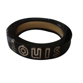 Louis Vuitton-Bracelet Wanted noir-Noir