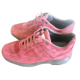 Hogan-Sneakers-Dark red
