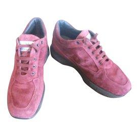 Hogan-Sneakers-Dark red