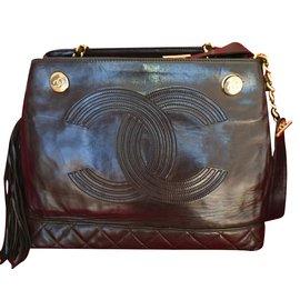 Chanel-Vintage tote-Brown