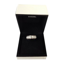 Chanel-Bague ultra ceramique-Blanc