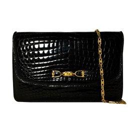 Céline-Clutch bag-Black
