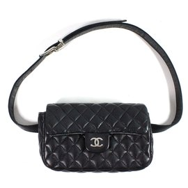 Chanel-Uniform Bag belt-Black