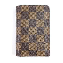 Louis Vuitton-Porte carte damier-Autre