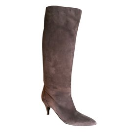 Hermès-Boots-Taupe