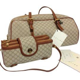 Céline-Handbag-Khaki