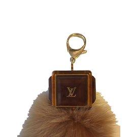 Louis Vuitton-Bag charm fox-Caramel
