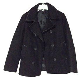 Ikks-Manteau garçon-Noir