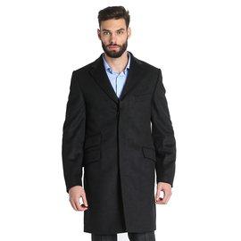 Trussardi-Manteaux homme-gris anthracite