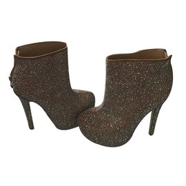 Kandee-Ankle Boots-Flesh