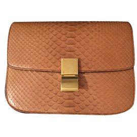 Céline-Handbag-Beige