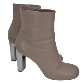 Céline-Bottines-Beige