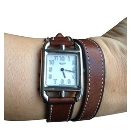 Hermès-Fine watch-Caramel