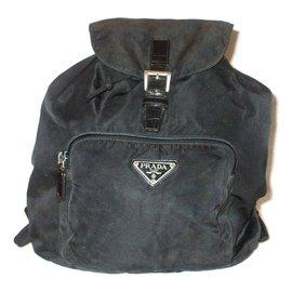 Prada-PRADA sac à dos-Noir