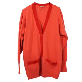 Hermès-Cardigan-Orange