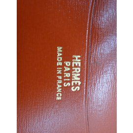 Hermès-Purses, wallets, cases-Cognac
