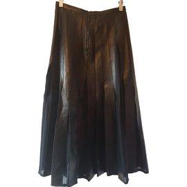Burberry-Skirt-Black