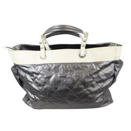 Chanel-Travel bag-Grey