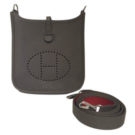 Hermès-Evelyne bag Mini TPM-Grey