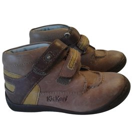Autre Marque-Chassures 'Kickers'-Marron