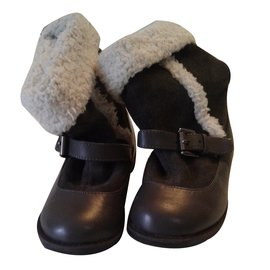 Autre Marque-'Verbaudet' Boots-Black