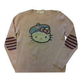 Victoria Couture-Sweater-Pink