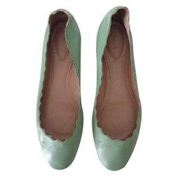 Chloé-Ballet flats-Green
