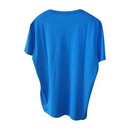 Burberry Brit-Tee shirts-Bleu