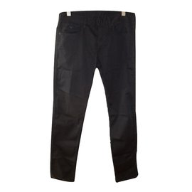 Emporio Armani-Pantalon homme-Bleu