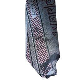 Vivienne Westwood-Cravate-Gris