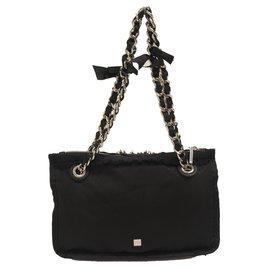 Purificacion Garcia-Handbag-Black