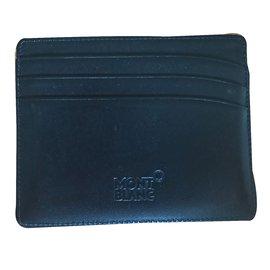 Montblanc-Card holder-Black