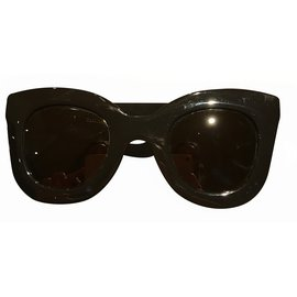 Céline-Oversized Sunglasses-Black