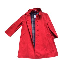 Burberry-Coat-Red