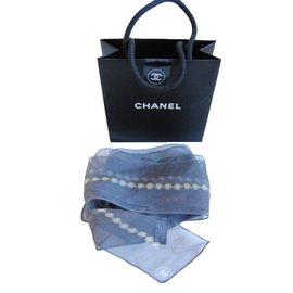 Chanel-Scarf-Grey